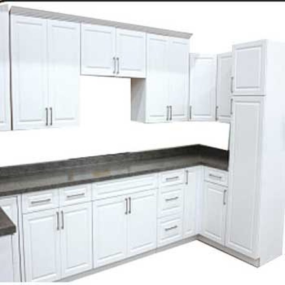 Clic White Kitchen Cabinets | Get Started Now at Builders ... on kitchens without top cabinets, raising kitchen cabnet, raising kitchen counter, raising kitchen ceiling,