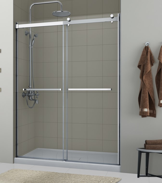 lagoon 5/16 frameless double roller door