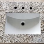 magic coral granite vanity top
